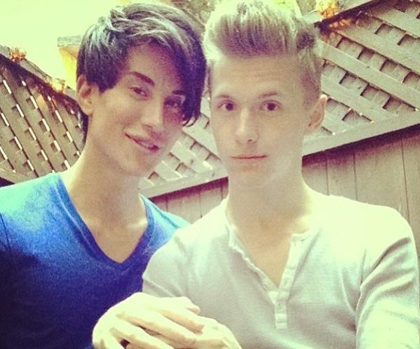 Justin Jedlica (Human Ken) and Friend