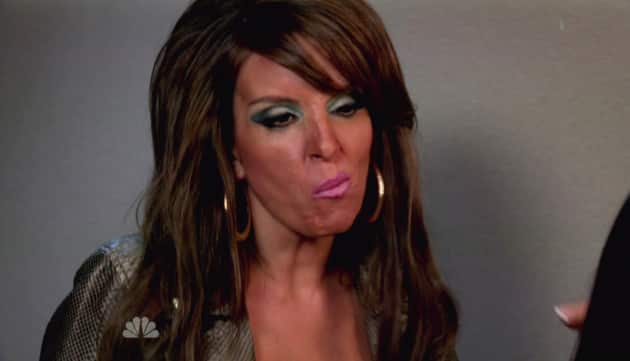 Tina Fey Channels Jersey Shore