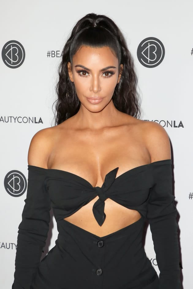 Kim with SOME Cleavage