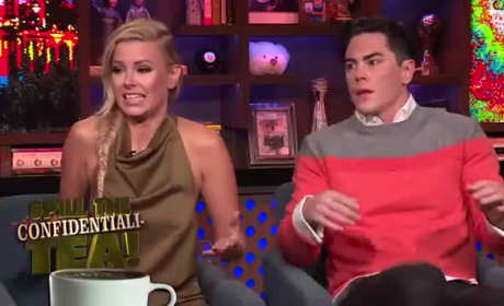Ariana Madix & Tom Sandoval on WWHL