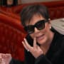 Kris jenner does a spot check