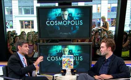 Robert Pattinson on Good Morning America: I Live for My Fans