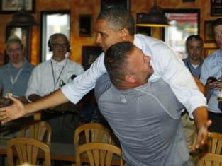 Obama Bear Hug