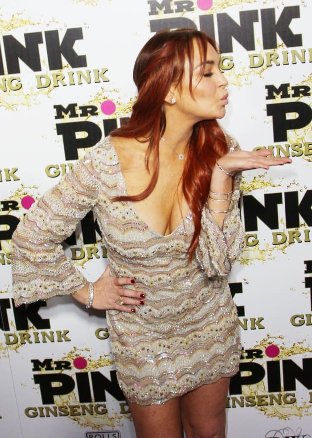 Lindsay Lohan Blows