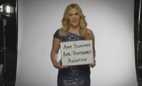 Amy Schumer Auditions for The Real Housewives