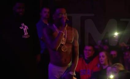 Soulja Boy Taunts Chris Brown, Wears Tightie Whities Like True G
