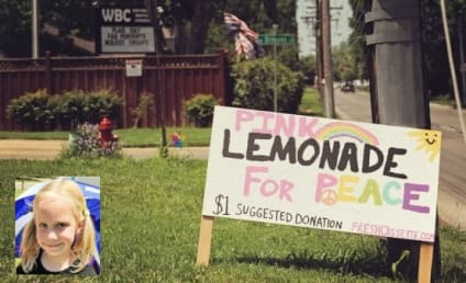 "Five-Year-Old Sticks it to Westboro Baptist Church With ""Lemonade For Peace"" Stand Outside"