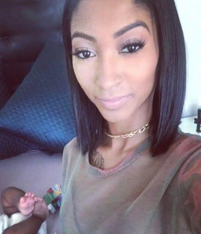 Jasmine Washington, Baby