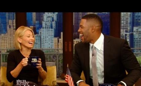 Michael Strahan Talks Magic Mike XXL