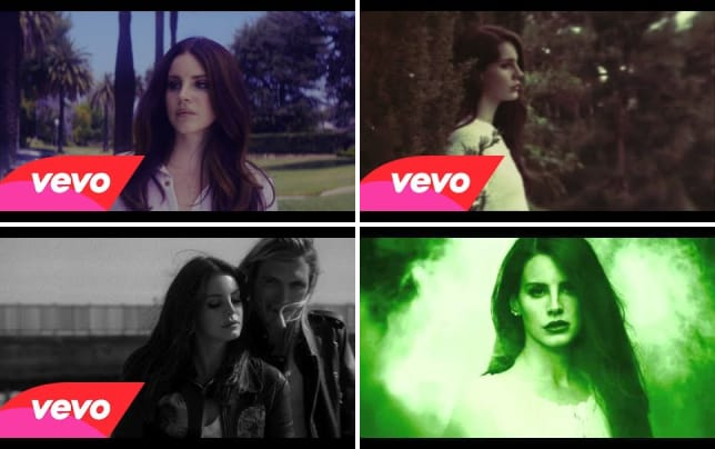 Lana del rey shades of cool
