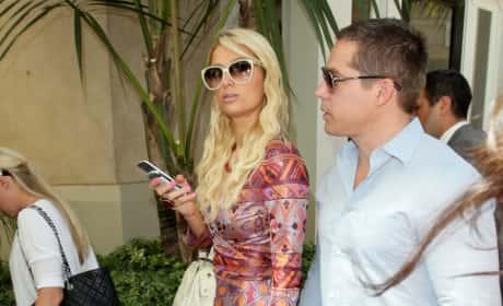 Paris Hilton and Cy Waits Image