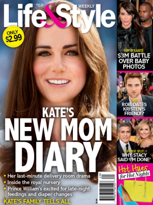 Kate's New Mom Diary