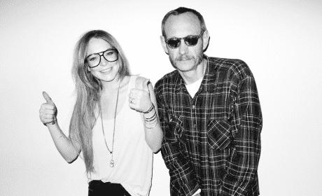 Lindsay Lohan and Terry Richardson Photo