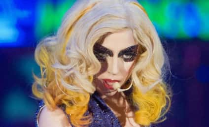 Lady Gaga on Glee Episode: AHHH!