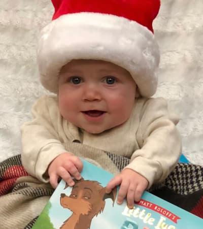 Jackson as Santa