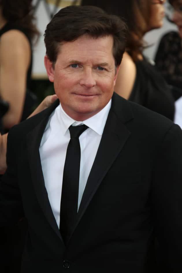 Michael J. Fox at the Golden Globes