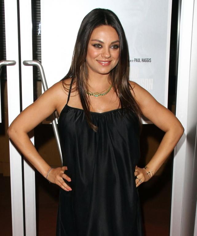 Mila Kunis Baby Bump on the Red Carpet