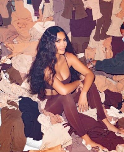 Kim Kardashian Sells Clothes