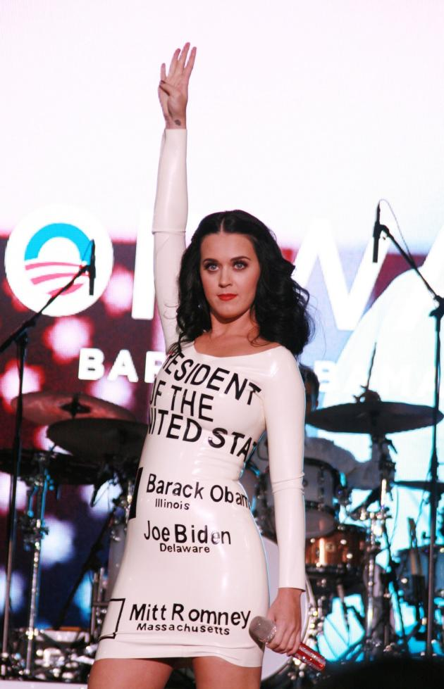 Katy Perry for Obama