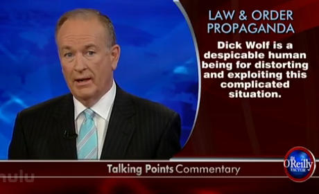 Bill O'Reilly vs. Law & Order
