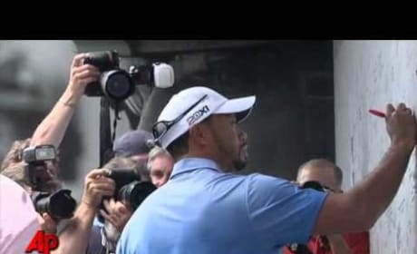Tiger Woods Fires Caddy