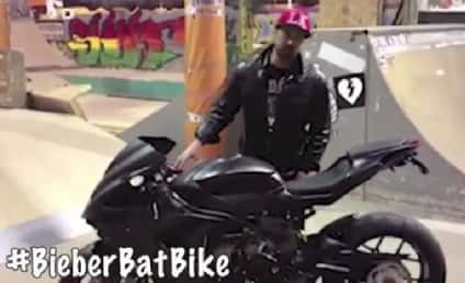 Justin Bieber: In Good Mood, Recipient of Bat Bike for Birthday