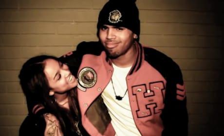 Chris Brown, Karrueche Tran Love-Fest
