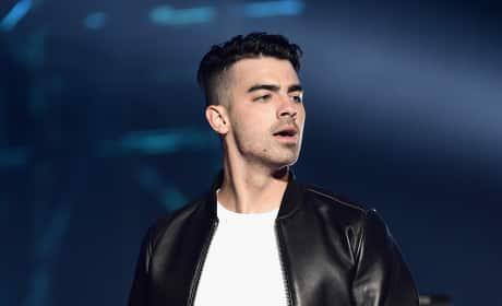 Joe Jonas at the EMAs