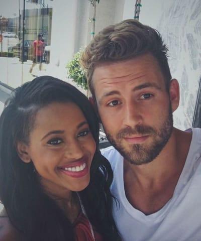 Rachel Lindsay and Nick Viall