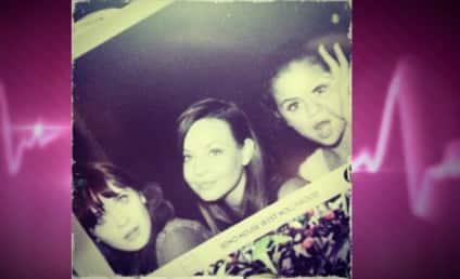 Selena Gomez and Zooey Deschanel: Ladies Being Ladies Night!