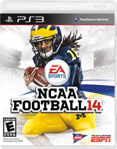 NCAA Football 14 Cover