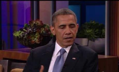 Obama on Tonight Show Recap (2013)