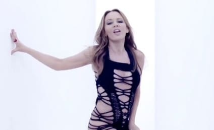"Kylie Minogue, 43, Strips Down For ""Timebomb"" Music Video"