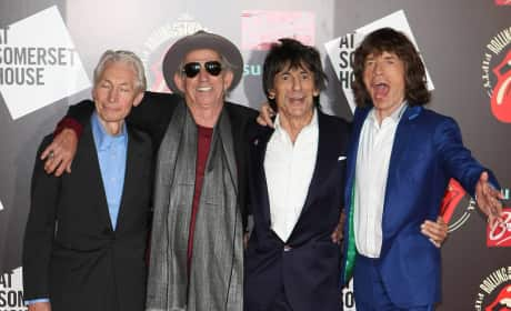 What do you think of Mick Jagger's Sandy joke?