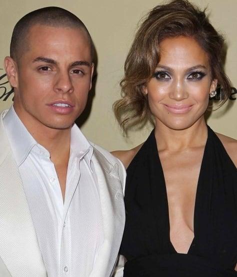 Jennifer Lopez and Casper Smart Pic