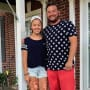 Hannah Gosselin and Jon Gosselin, 4th of July