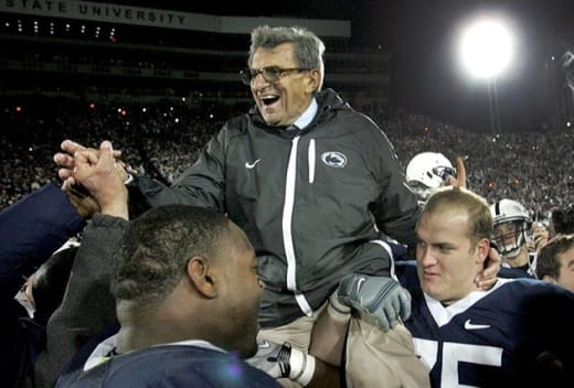 Joe Paterno Photograph