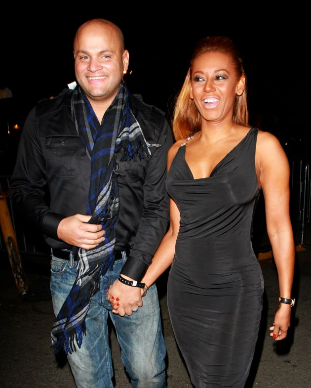 Stephen Belafonte and Melanie Brown Photo