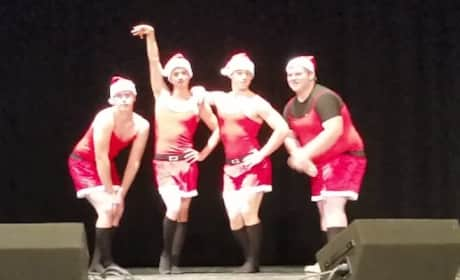 High School Students Recreate Mean Girls Christmas Dance