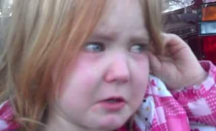 Abigael Evans, 4, Cries Over Presidential Election