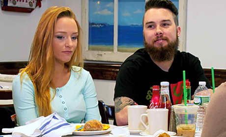 Maci Bookout and Taylor McKinney Pic