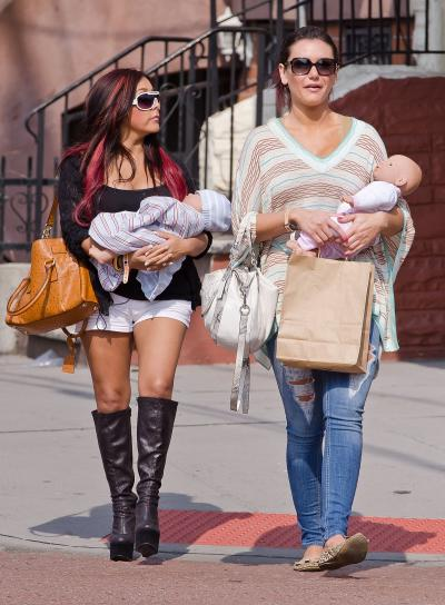 JWoww and Snooki Photo
