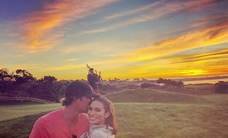 Ashley Iaconetti and Kevin Wendt, Sunset