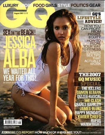 Alba in GQ