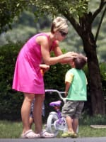 Kate Gosselin and Son