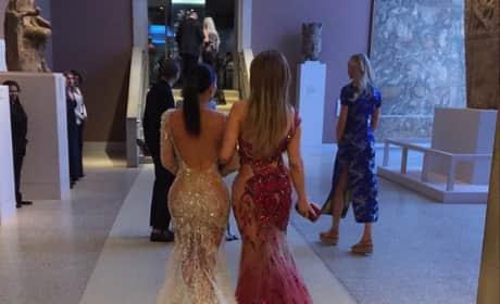 Kim Kardashian and J. Lo
