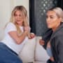 Khloe and Kim on KUWTK