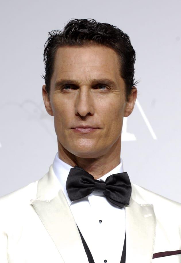 Matthew McConaughey Oscars Photo