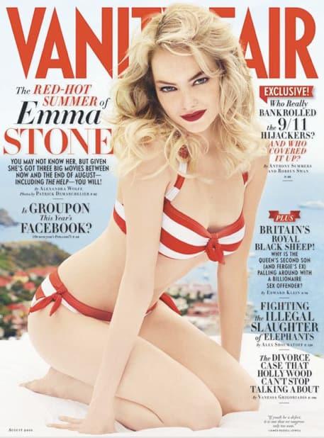Emma Stone Vanity Fair Cover