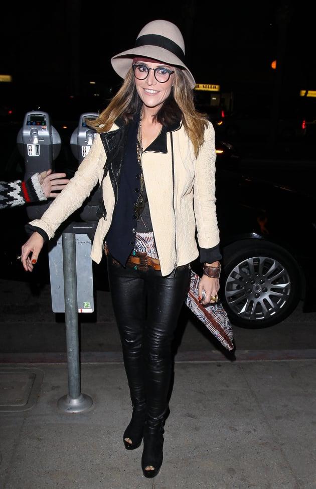 Brooke Mueller on the Street